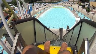 Crushing the Bob Water Slide at Acquatica Park