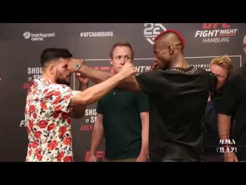 UFC Fight Night Hamburg Media Day Face off Highlights