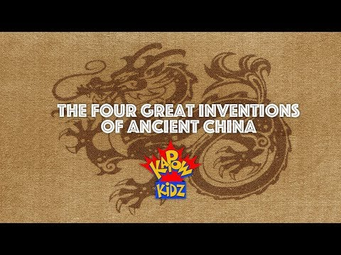 4 Great Inventions of Ancient China