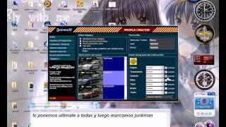 Como Usar El Nfsmw Panel control Y Como Pasar Al Español Need For Speed Most Wanted!!