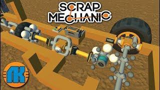 СТРОИМ ПЕРЕДАЧУ И СЦЕПЛЕНИЕ в Scrap Mechanic \ FREE DOWNLOAD \ СКАЧАТЬ СКРАП МЕХАНИК !!!