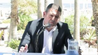 Presentación de los actos conmemorativos del 40 aniversario del Lago Martiánez - Puerto de la Cruz