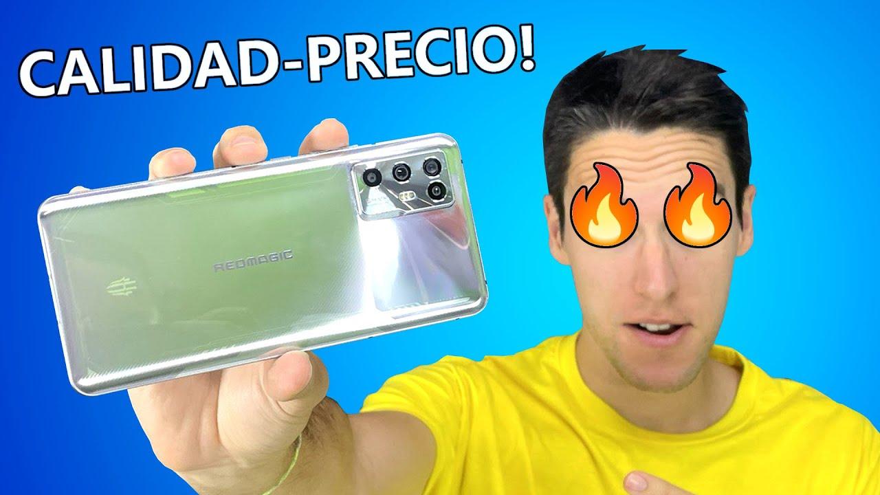 EL TELÉFONO CALIDAD PRECIO que NO esperabas! Red Magic 6R, review en español y Unboxing
