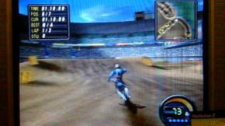 Me Playing Jeremy McGrath Supercross World for the PS2