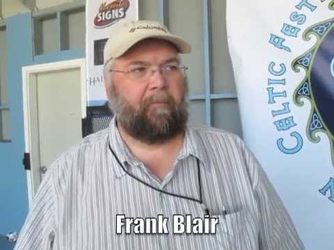 Frank Blair at the 3rd Annual Newport Celtic Festival & Highland Games