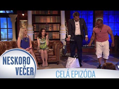 Beáta Dubasová, Marika Studeničová a Adam Cibuľa v Neskoro Večer - CELÁ EPIZÓDA