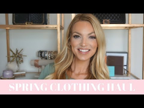 SPRING CLOTHING HAUL SHOES CLOTHES AND ACCESSORIES