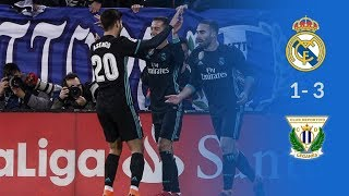 Leganes vs Real Madrid 1- 3  - La Liga 2018-2-22 All Goals and Extended Highlights