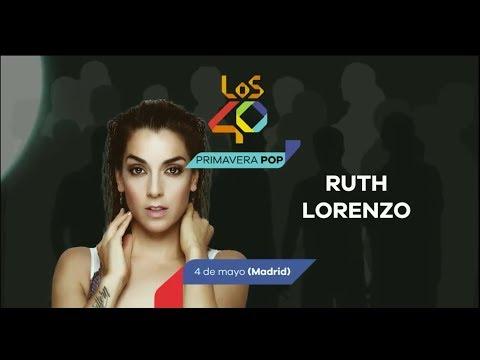 Ruth Lorenzo en Los40 Primavera Pop 2018