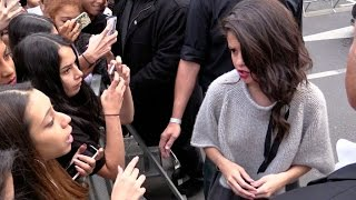 Download Selena Gomez confront a fan at NRJ radio station in Paris ! Mp3 and Videos