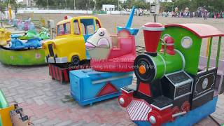 Kids Enjoying Different Rides | Super Amusement Games