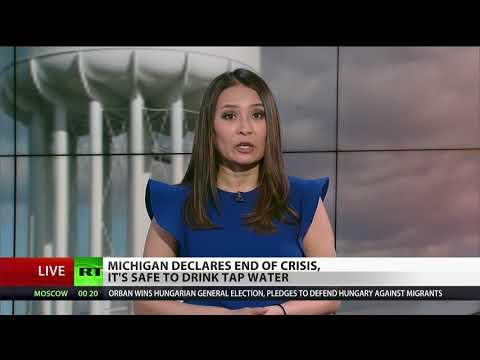 Flint water crisis 'over'?