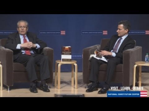 Laurence Tribe discusses John Roberts
