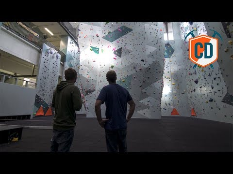 Visiting Magnus Midtbø's Massive Climbing Wall | Climbing Daily Ep.1023