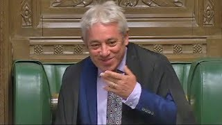 Speaker Bercow losing his voice proves he's a bad influence in Parliament