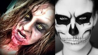 Halloween Makeup - Pretty And Scary Halloween Makeup Ideas - MUST SEE 2018 #3