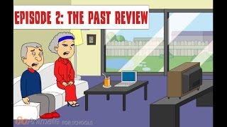 future life for caillou  episode 2 the past review