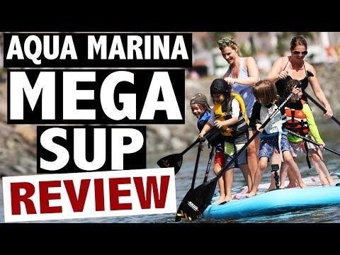 Aqua Marina MEGA SUP Review (2018 Big SUP)