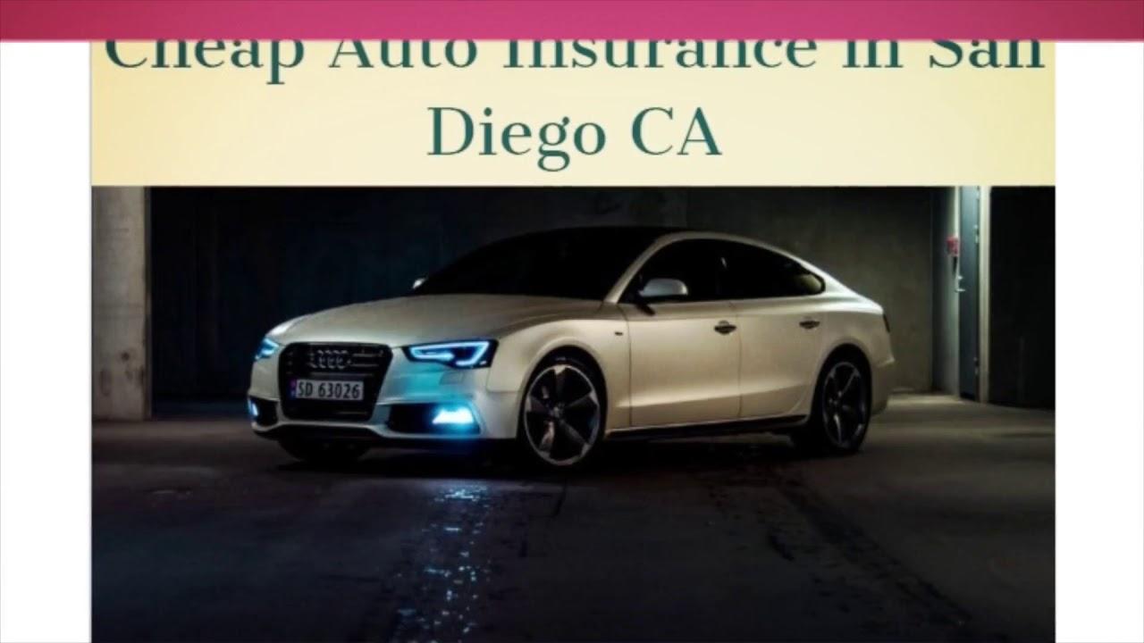 Cheap Auto Insurance in San Diego