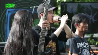 Extreme Moshpit Stage at Hammersonic 2016 - VISCRAL
