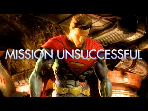 "LET THE SALT & RAGE BEGIN - Injustice: ""Superman"" S.T.A.R Labs Mission 1-10"
