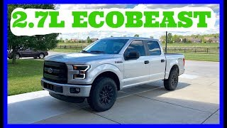 2.7L V6 Twin-Turbo ECOBOOST Review!