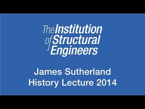 James Sutherland History Lecture 2014 : Not up, not down but sideways - James Thomson