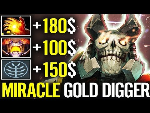 WTF MIRACLE NEW META 7.21 [Doom] Midas Fastest Gold Farm Miracle- Dota 2 UPdate thumbnail