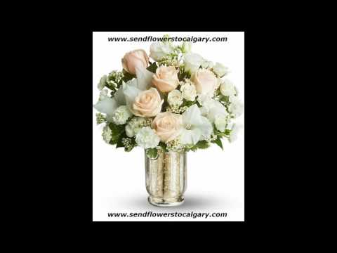 Send flowers from Sweden to Calgary Alberta Canada
