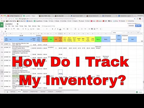 Walk Through My Inventory Spreadsheet, Sold Updates and Unboxing Electronics from Liquidation