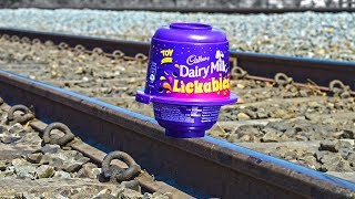 Train Vs Lickables DairyMilk EXPERIMENT thumbnail
