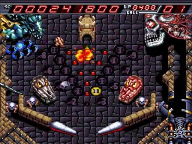 Jouez à Devil's Crush sur NEC PC Engine / Turbografx 16