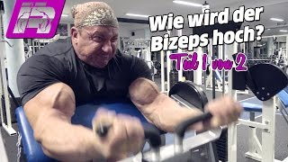 Wie wird der Bizeps massiv und hoch? Bodybuilding-Tipps (Teil 1/2)