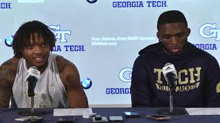 2019 Football Game 11: Student-Athletes Postgame Press Conference