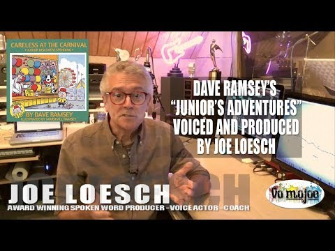 """Joe Loesch Voices """"Careless At The Carnival"""" from Junior's Adventure Series"""