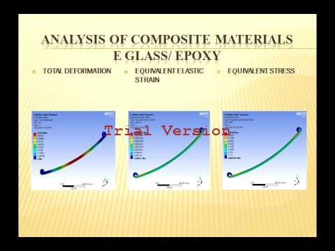 FABRICATION, ANALYSIS AND COMPARISION OF COMPOSITE MATERIAL FOR LEAF SPRING