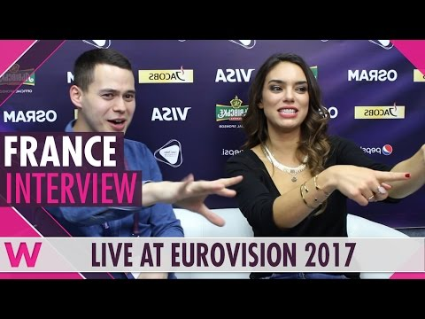 Alma (France) Interview @ Eurovision 2017 | Wiwibloggs