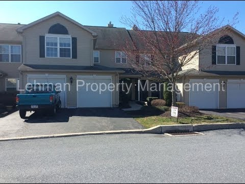 Central PA Townhomes for Rent 2BR/2BA by Lehman Property Management