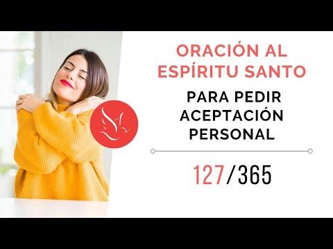 Oración al Espíritu Santo para pedir aceptación personal