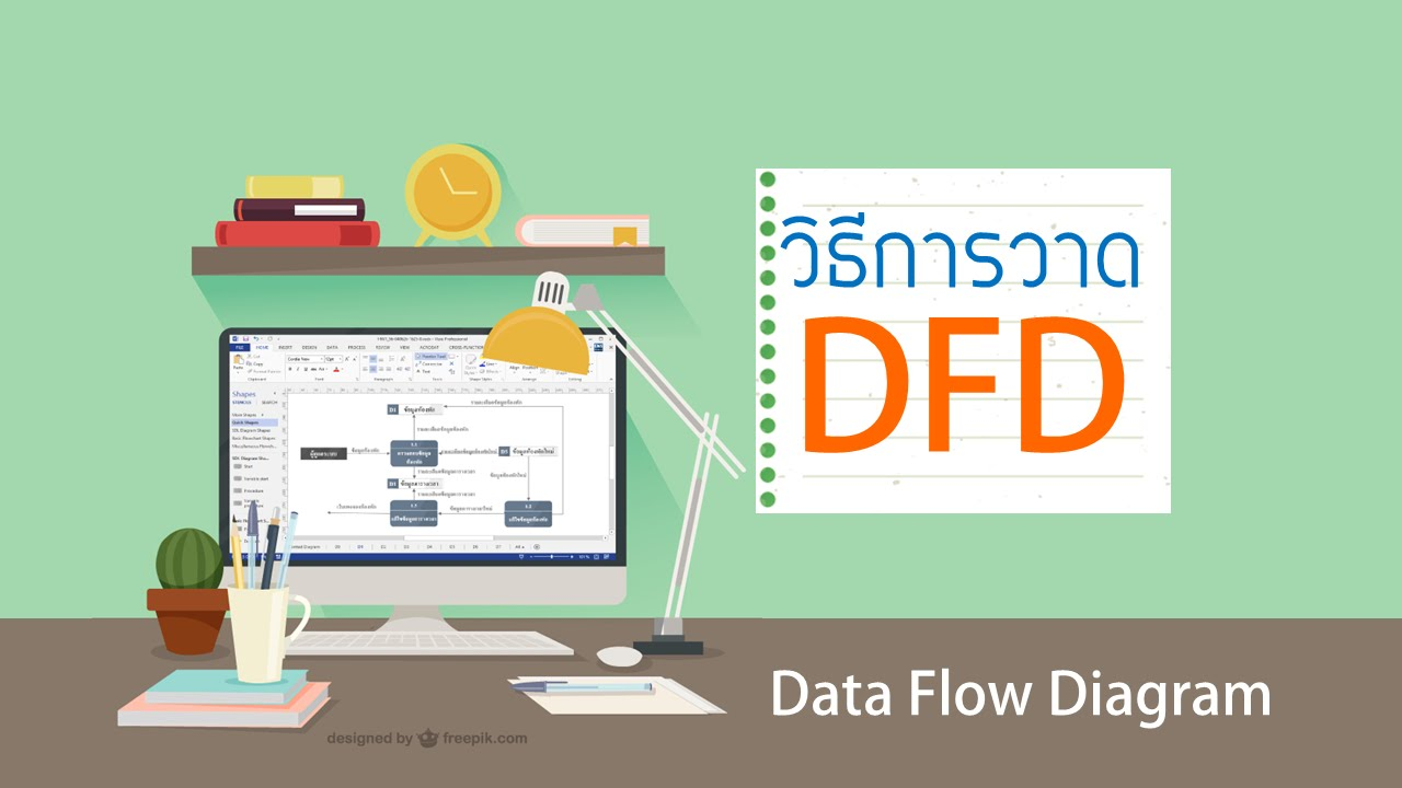 how to make dfd diagram in visio 2007