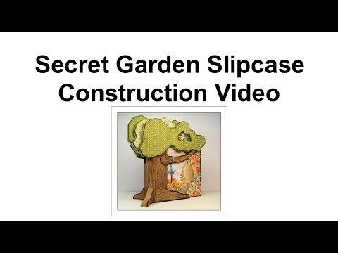 4 Secret Garden Slipcase Construction - Tree Branches