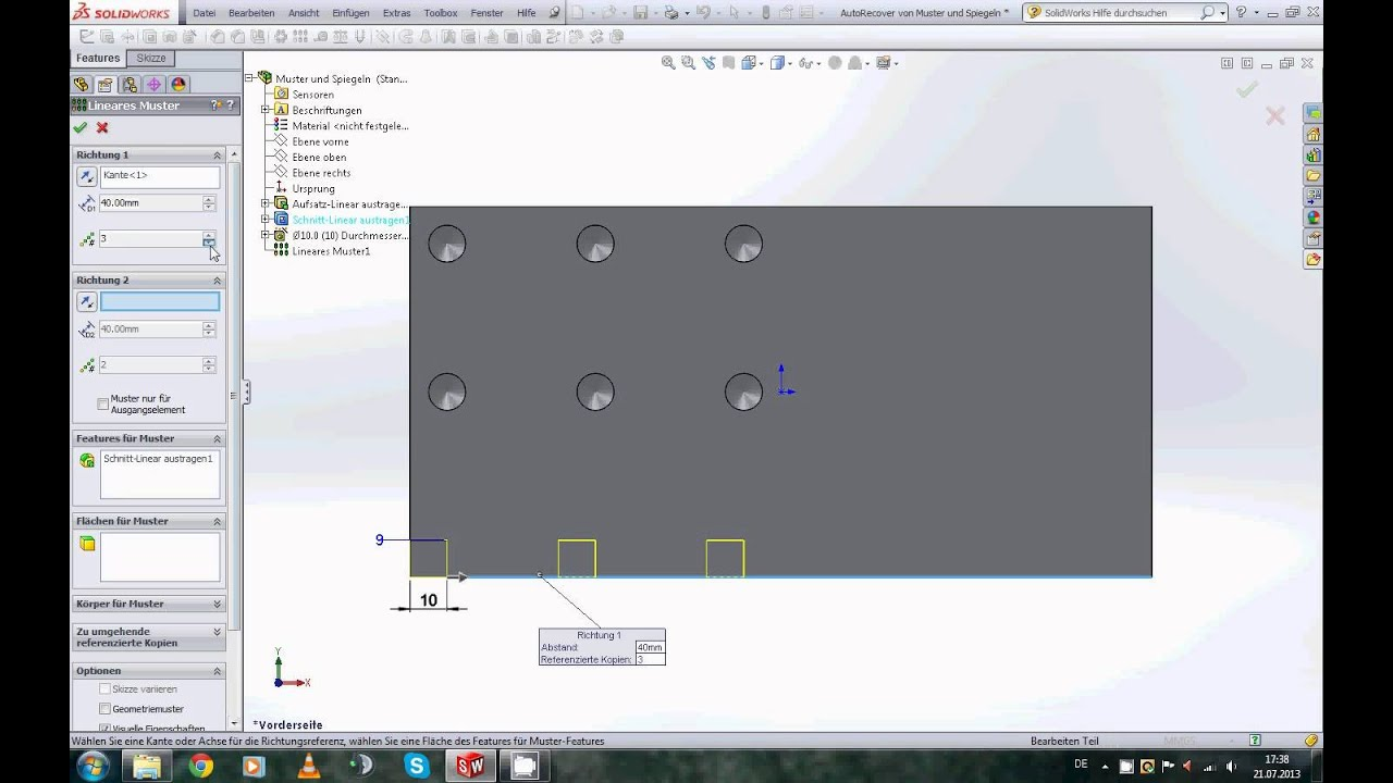 SolidWorks 2013 Features