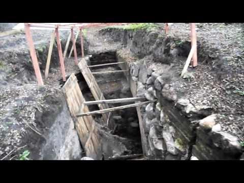Археологические раскопки на Тереспольском укреплении Брестской крепости