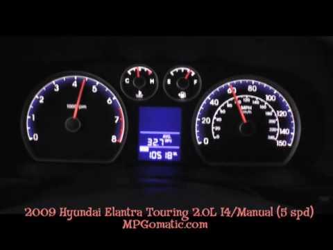 2009 Hyundai Elantra Touring 0 60 Mph