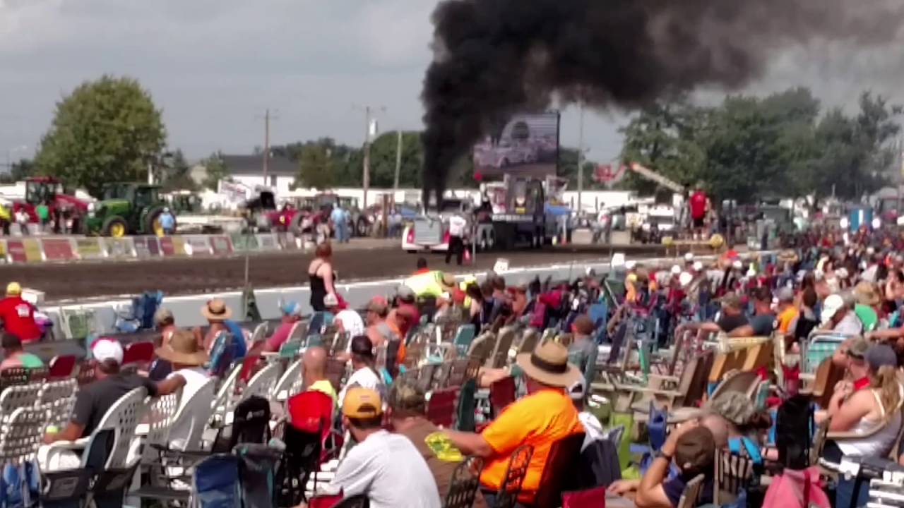 Watch the biggest engine blow-out there has ever been