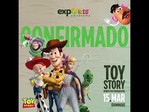 Expo umuarama 2020 - Toy Story - Troncos Tapira