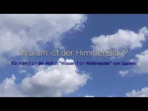 Galileo Wissen für Weltmeister - Warum ist der Himmel Blau