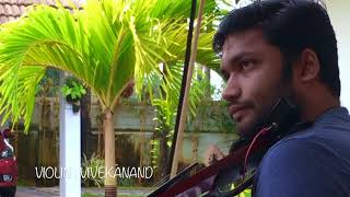 Vaanam Chaayum | വാനം ചായും | Anarkali | Violin | Vivekanand