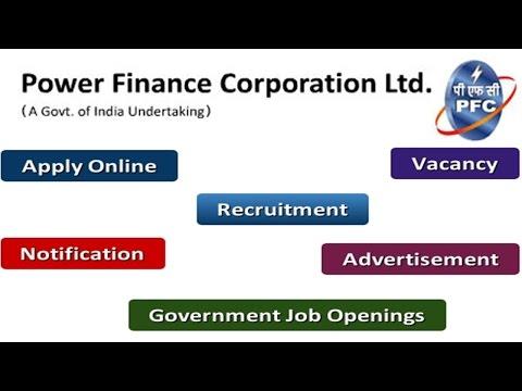 Power Finance Corporation Recruitment Apply Online Notifications Careers Vacancy