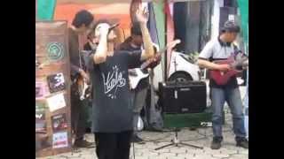 piksi ganesha -  CANGKURILEUNG band -hayang kawin -(born with attitude ) -launching frekuensi starti